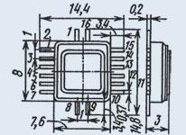 Диодная матрица КД917АМ