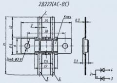 Диодная сборка 2Д222АС