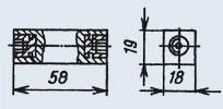Диодный столб 2Ц202Б
