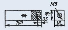 Диодные столбы и блоки
