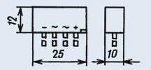 Диодный столб КЦ412Б