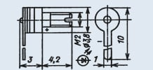 Излучающий диод ИК диапазона 3Л124А