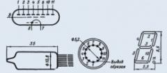 Индикатор вакуумный ИВ-3А