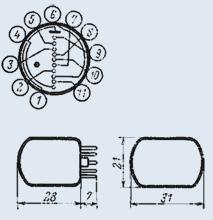Индикатор вакуумный ИН-15А