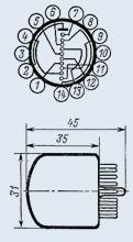 Индикатор вакуумный ИН-7