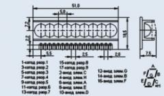 Индикатор знакосинтезирующий АЛС318А