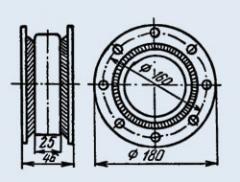 Конденсатор керамический высоковольтный К15-14Б 22 пф 3.5 кв