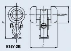 Condenser ceramic high-voltage K15U-2V 470 pf 8 kV