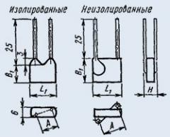 Конденсаторы керамические