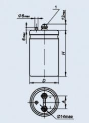 Конденсатор оксидно-электролитический К50-18 10000