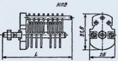 Конденсатор подстроечный КПВ-50 4/50 пф 300 В