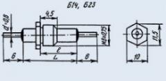Конденсатор помехоподавляющий Б23А 1500пф