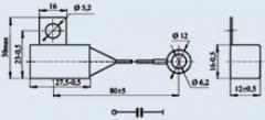 Конденсатор помехоподавляющий К73-21В 2.2 мкф 100 в