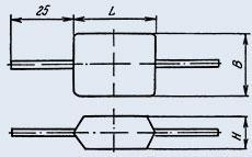Конденсатор слюдяный КСОТ-1Г 510 пф 250 в