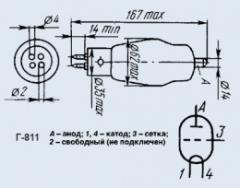 Лампа генераторная Г-811