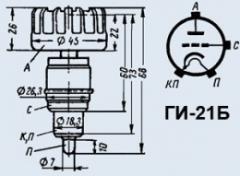 Лампа генераторная ГИ-21Б