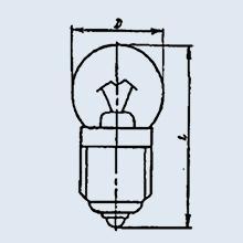 Лампа оптическая ОП6.3-0.22