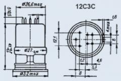 Лампа пальчиковая 12С3С