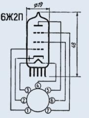Lamp finger-type 6Zh2P