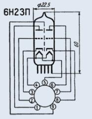 Лампа  6Н23П-ЕВ