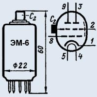 Лампа пальчиковая ЭМ-6
