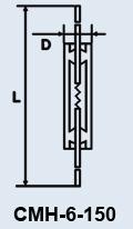 Лампа сверхминиатюрная СМН-6-150