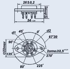 Lamp PL4Sh-2PV panel