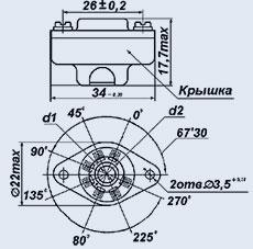 Lamp PL7-1PKV panel