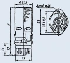 Ламповая панель ПЛ7-2КЭ46
