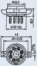 Ламповая панель ПЛ8-2К