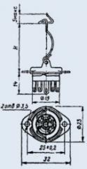 Ламповая панель ПЛК7-Д45