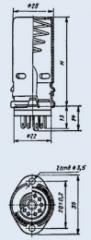 Lamp PLK9-E55 panel