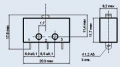 Микропереключатель МП1-1