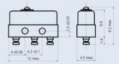 Микропереключатель МП12