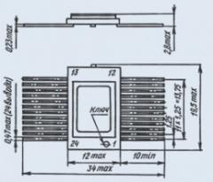 Микросхема 100ИП181