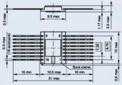 Микросхема 100ЛК117