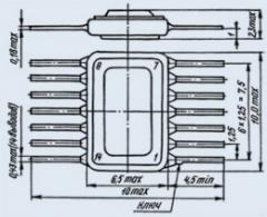 Микросхема 130ЛА4