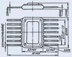 Микросхема 178ЛК1