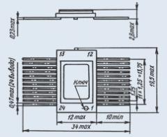 Микросхема 558РР2Б