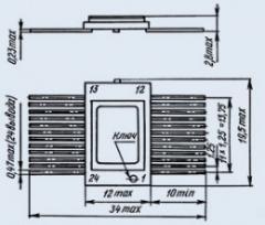Микросхема 585ИК14