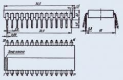 Микросхема 589ИК02