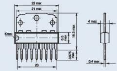 Микросхема К1033ЕУ1