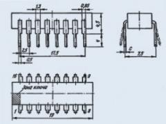 Микросхема К155ИД4