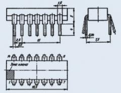 Микросхема К155ИЕ1