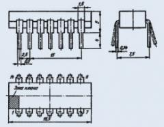 Микросхема К155ИЕ5