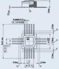 Микросхема КН1015ПЛ4Б