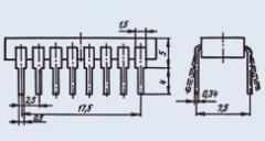 Микросхема КР1033ЕУ4