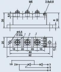 Модули диодно-тиристорные