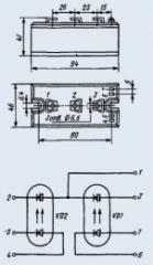 Модуль оптотиристорный МТОТО-160-8