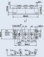 Модули оптотиристорные
